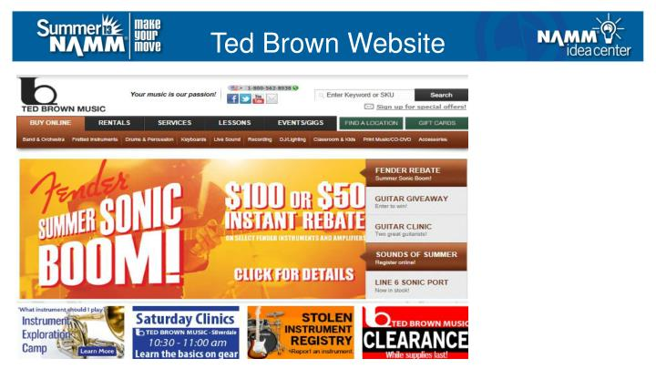 Ted Brown Website