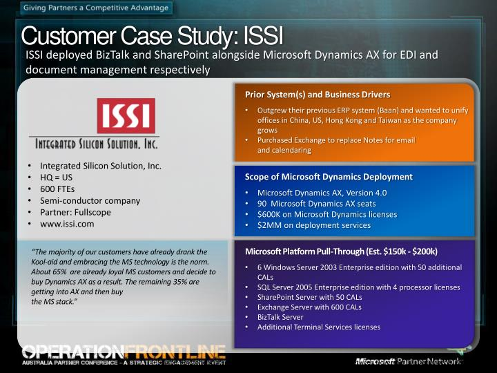 Customer Case Study: