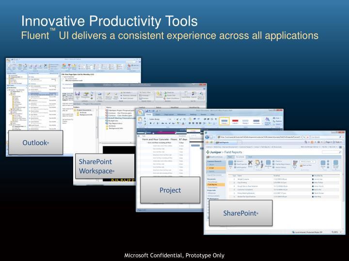 Innovative Productivity Tools