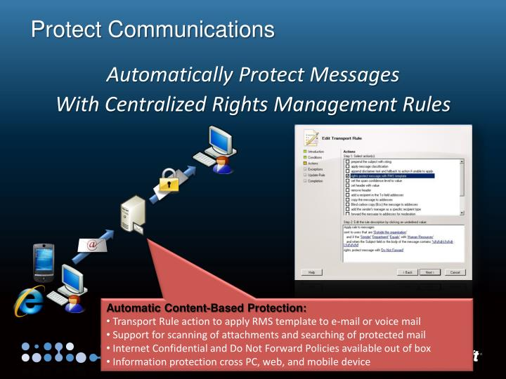 Protect Communications