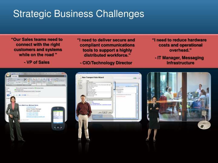 Strategic Business Challenges