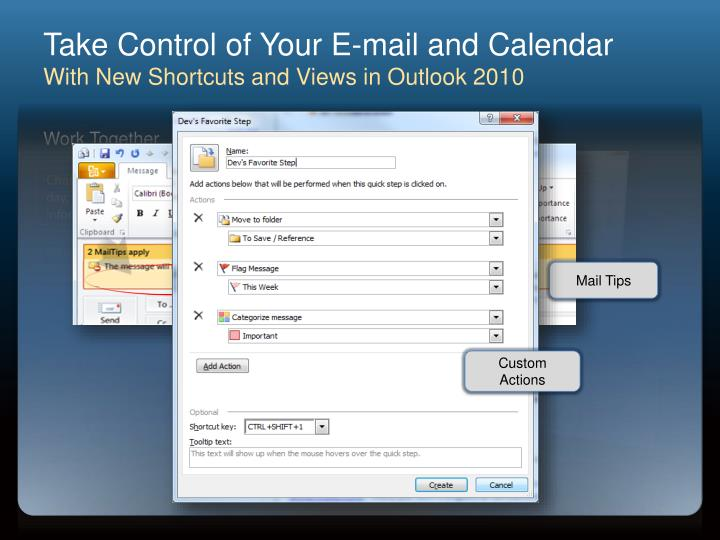 Take Control of Your E-mail and Calendar