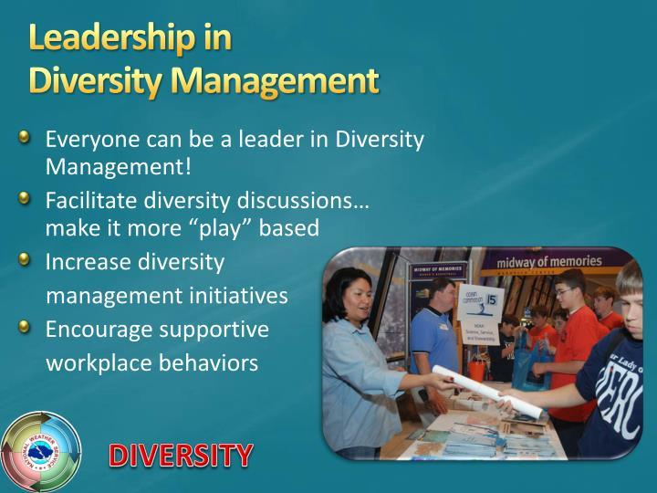 Leadership in