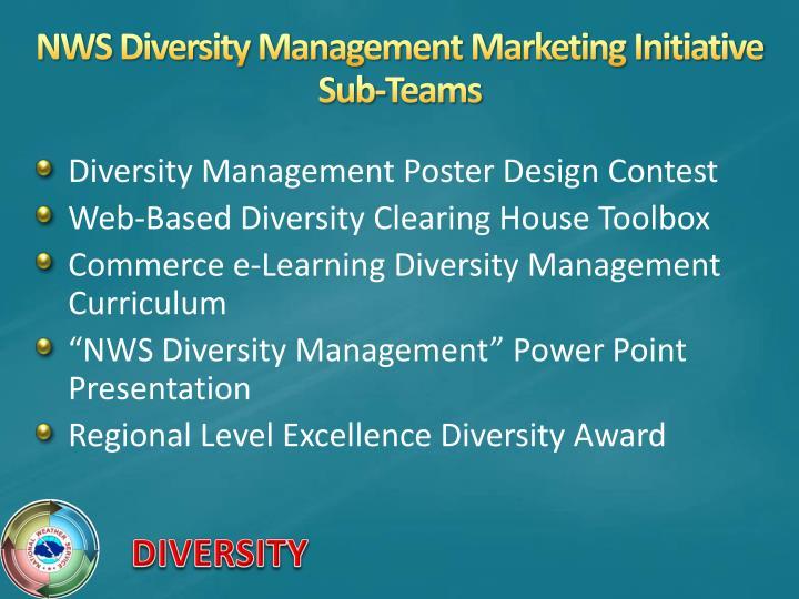 NWS Diversity Management Marketing Initiative