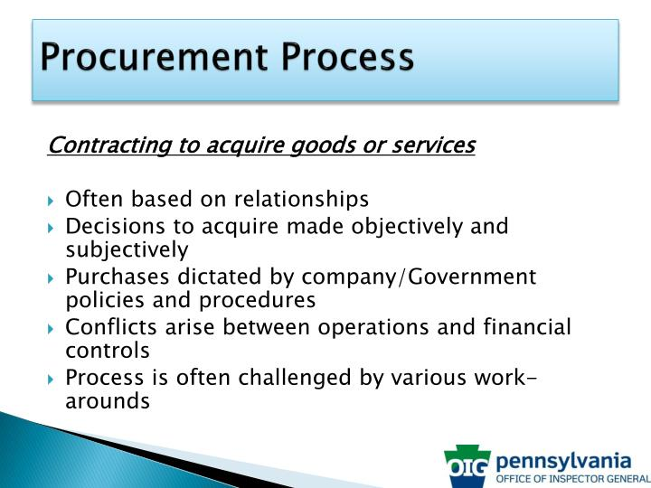 Procurement Process