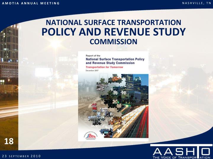 NATIONAL SURFACE TRANSPORTATION
