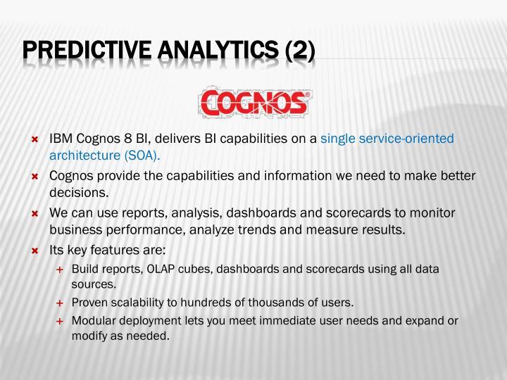 IBM Cognos 8 BI