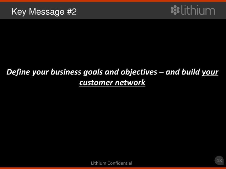 Key Message #2
