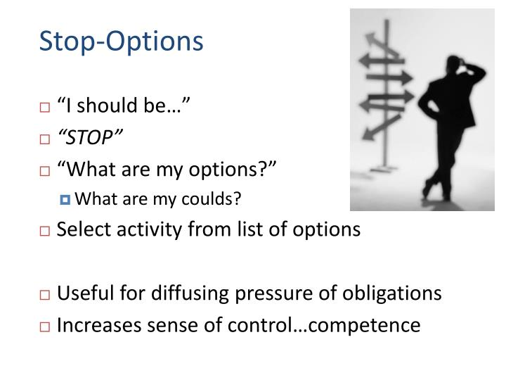 Stop-Options