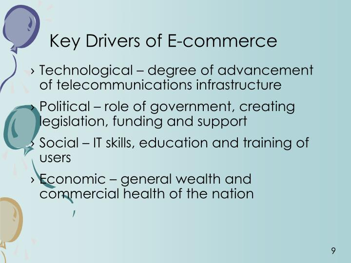 Key Drivers of E-commerce