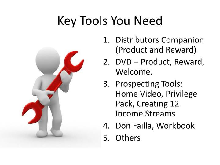Key Tools You Need