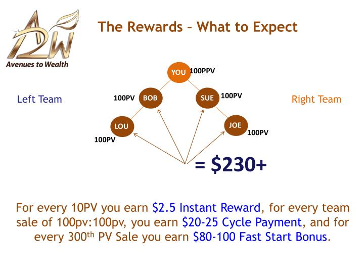 The Rewards – What to Expect