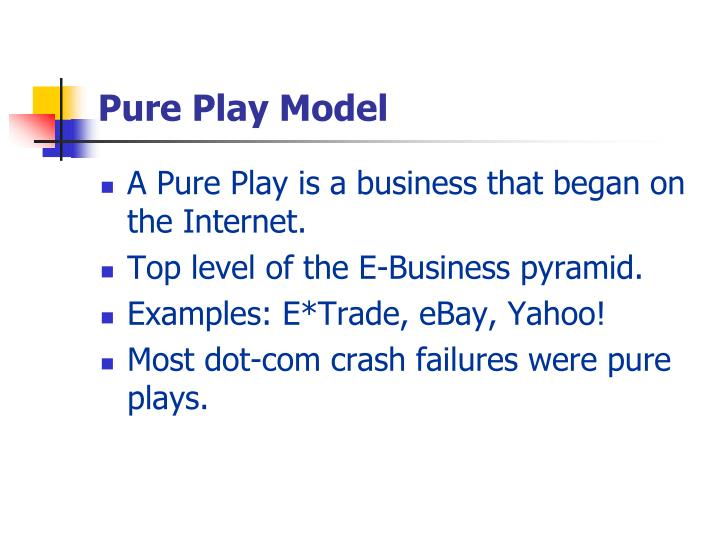Pure Play Model
