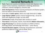 general remarks ii