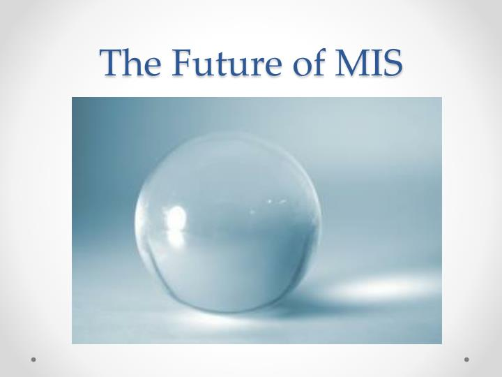 The Future of MIS