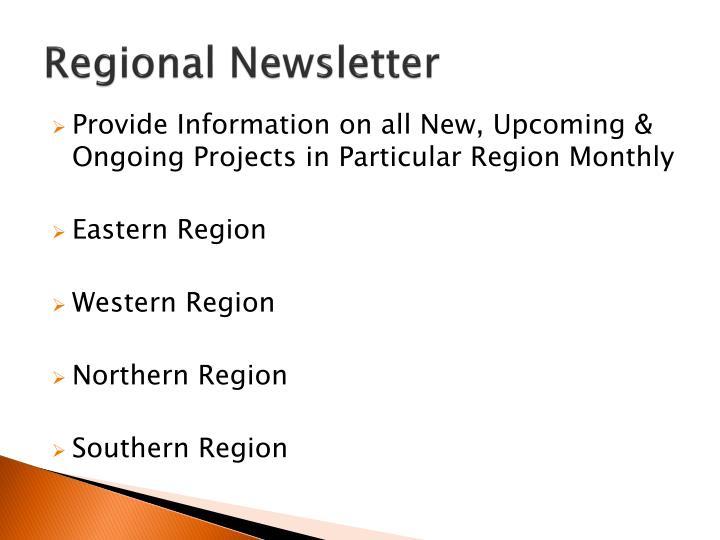 Regional Newsletter