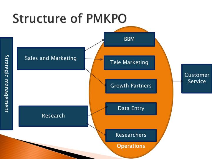 Structure of PMKPO