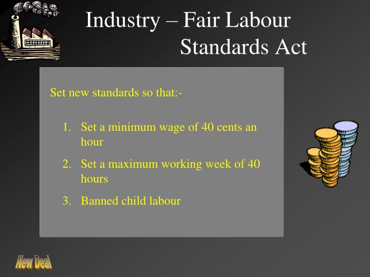 Industry – Fair Labour