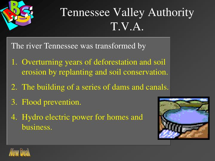 Tennessee Valley Authority T.V.A.