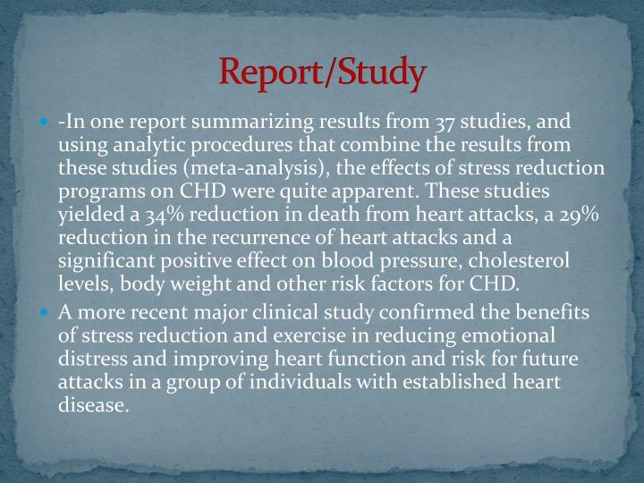 Report/Study