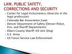 law public safety corrections and security