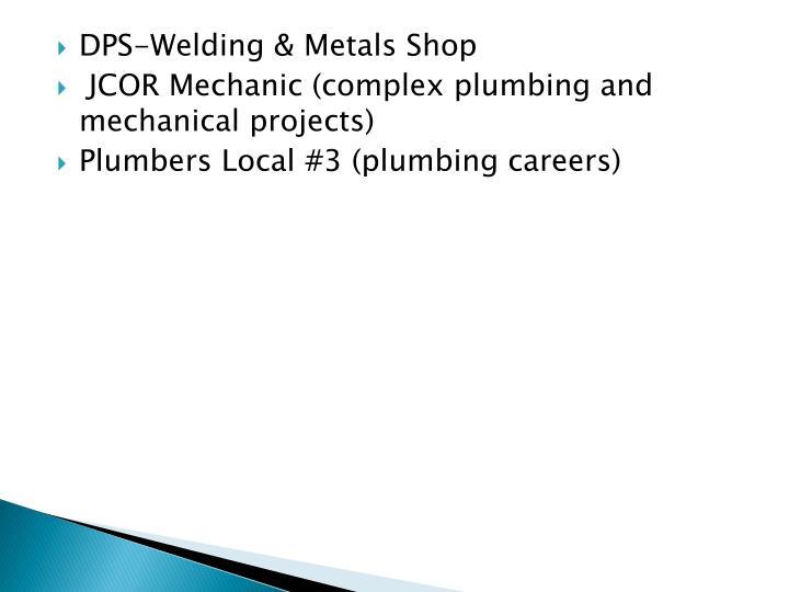 DPS-Welding & Metals Shop