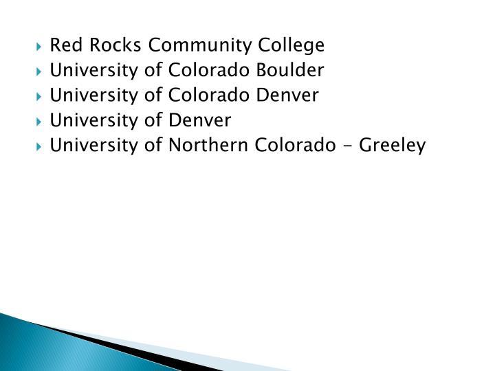 Red Rocks Community