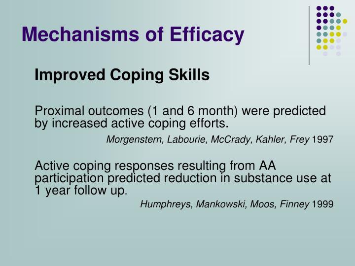 Mechanisms of Efficacy