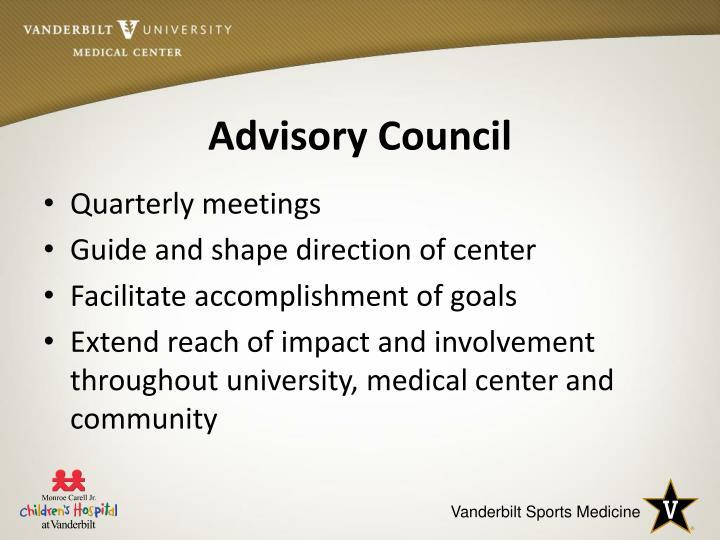 Advisory Council