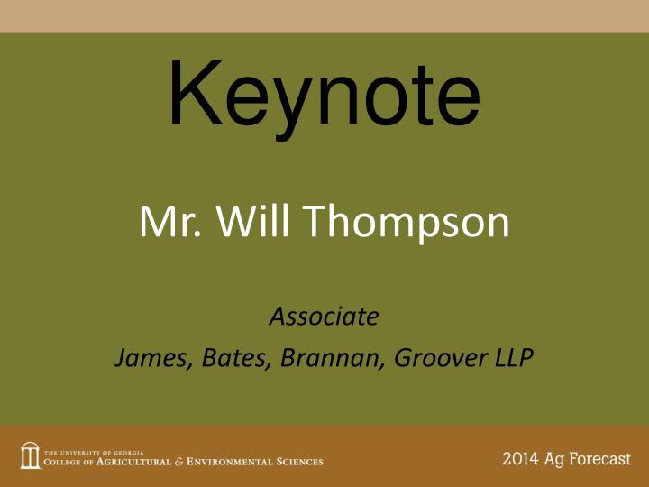 Keynote
