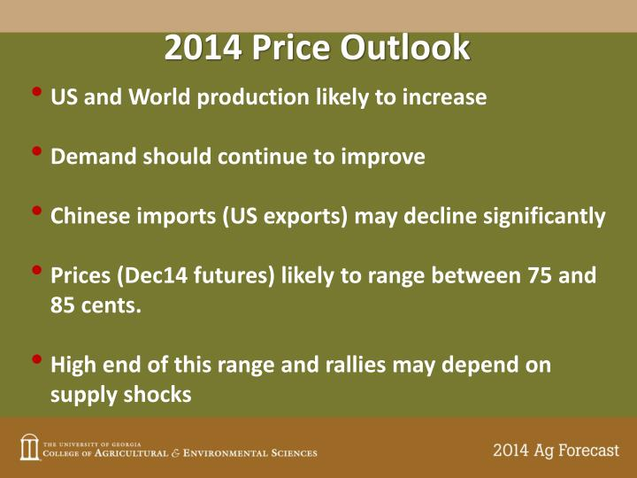 2014 Price Outlook