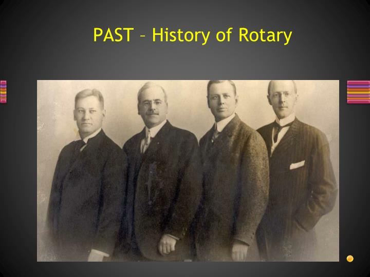 PAST – History of Rotary