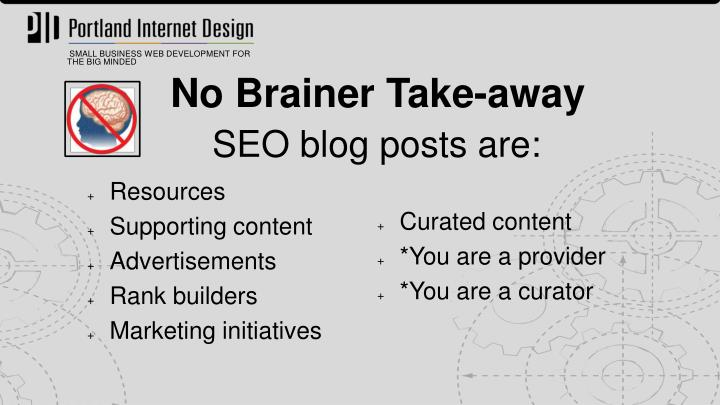 SEO blog posts are: