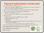 payment authorization continued1