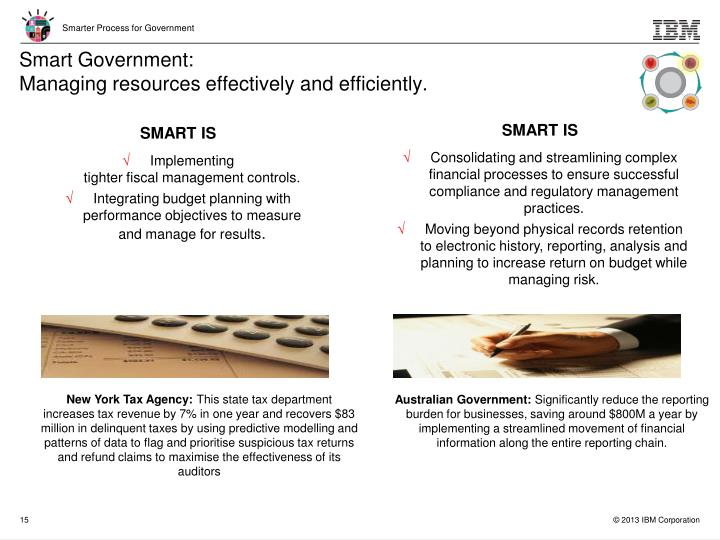 Smart Government: