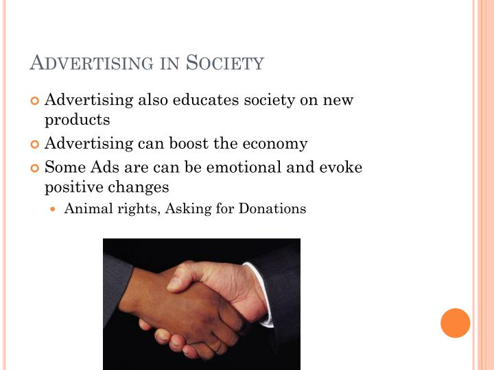 Advertising in Society