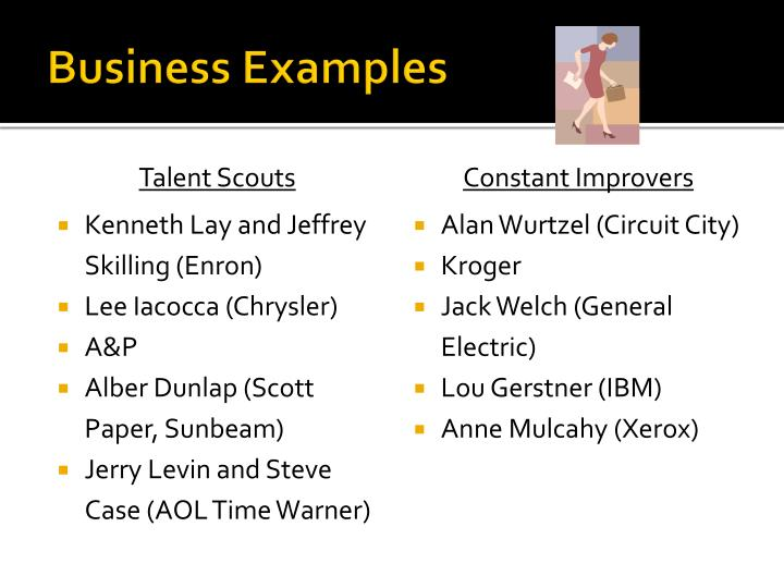 Business Examples