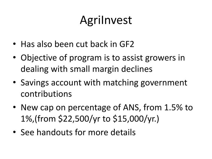 AgriInvest