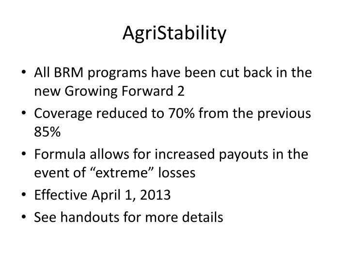 AgriStability