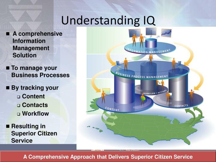 Understanding IQ