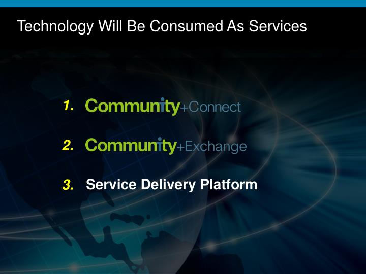 Technology Will Be Consumed As Services
