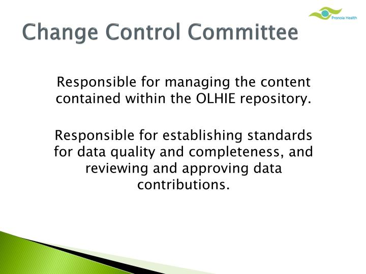 Change Control Committee