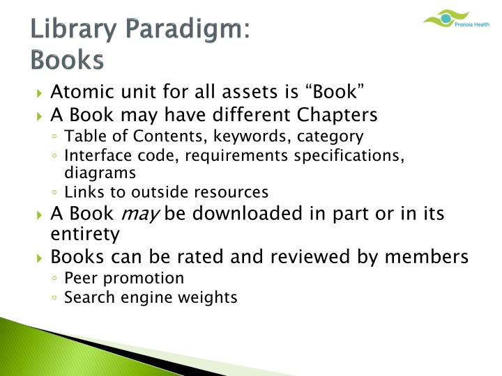 Library Paradigm: