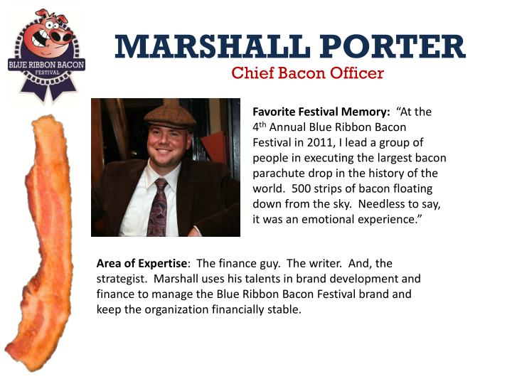 Chief Bacon Officer
