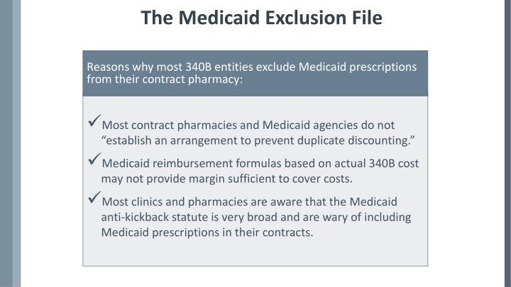 The Medicaid Exclusion File