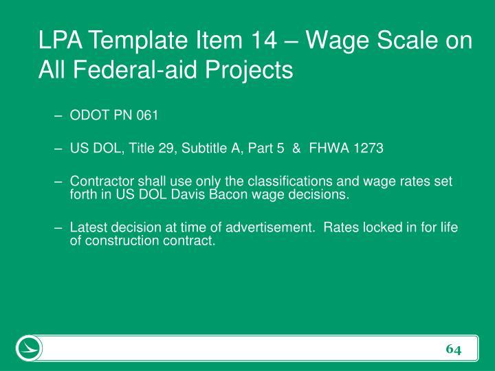 LPA Template Item 14