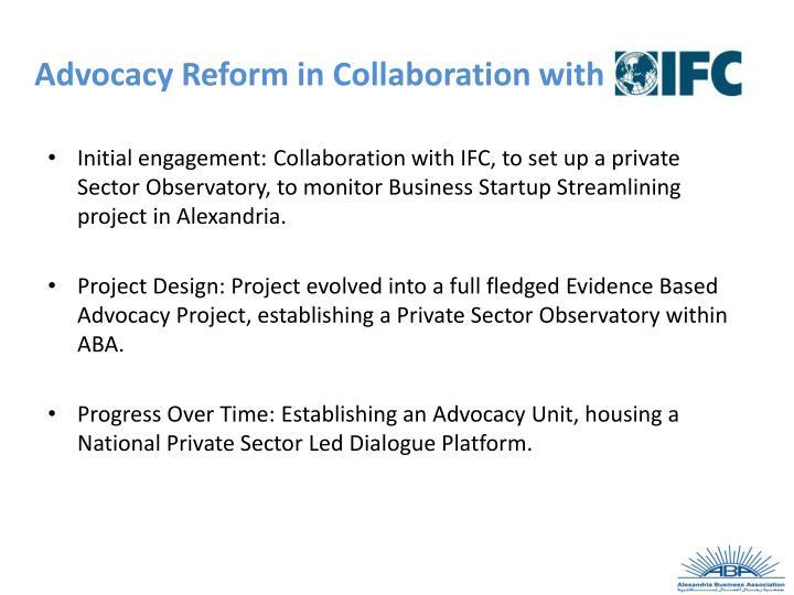 Advocacy Reform