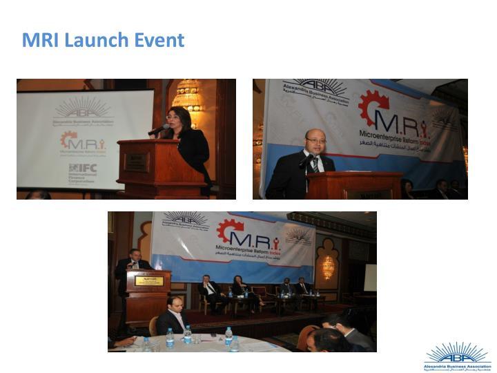 MRI Launch