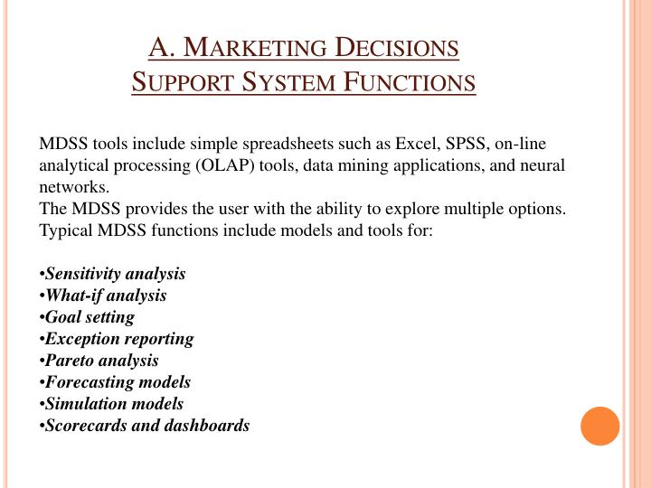 A. Marketing Decisions