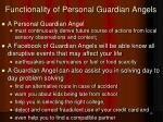 functionality of personal guardian angels